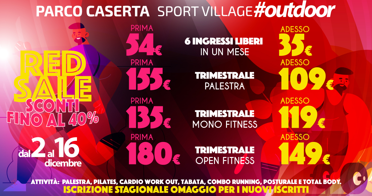 Parco Caserta sport village Reggio Calabria